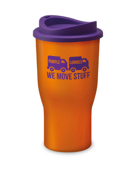 Universal Challenger Tumbler Orange and Purple