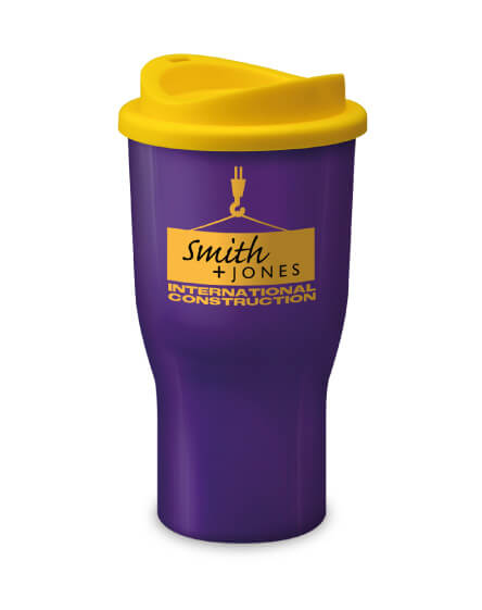 Universal Challenger Tumbler Purple and Yellow