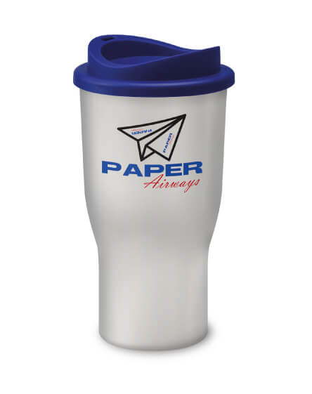 Universal Challenger Tumbler White and Blue
