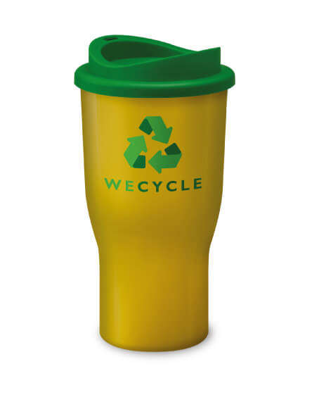 Universal Challenger Tumbler Yellow and Green