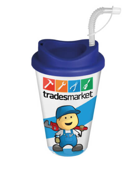printed reusable recyclable eco mugs