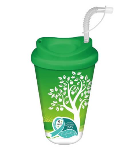 universal full colour printed reusable eco mugs
