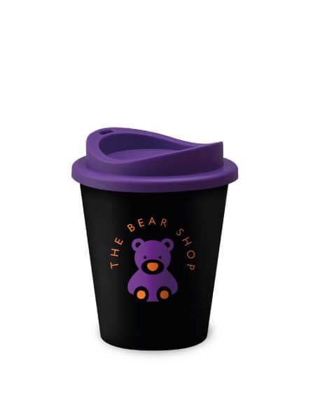 Universal Vending Mugs Black Purple