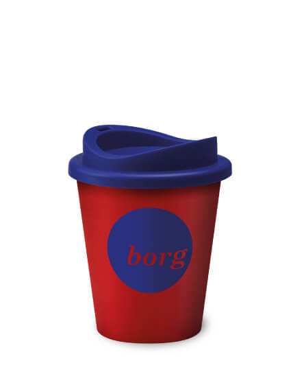 Universal Vending Mugs Red Black