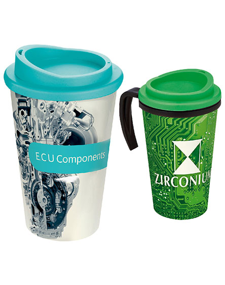 americano full colour reusable mugs