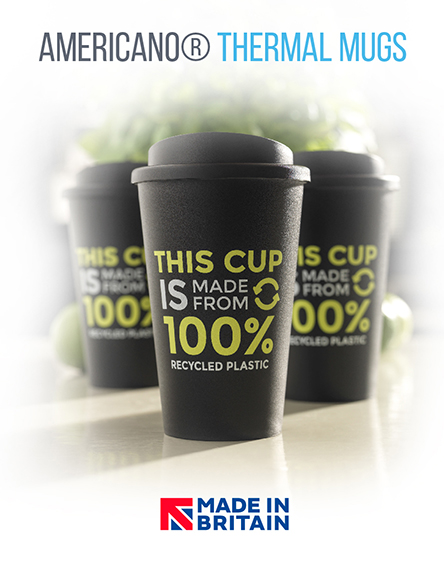 americano recycled reusable cups