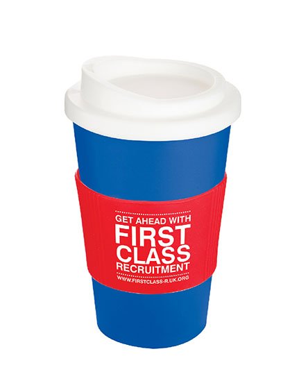 americano reusable cups blue