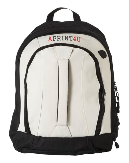 branded arizona front handle backpack