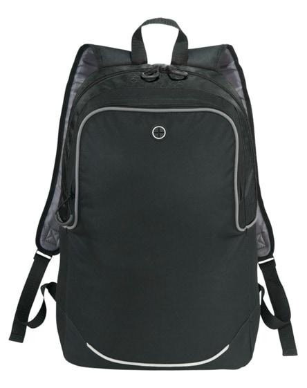 "branded benton 17"" laptop backpack"