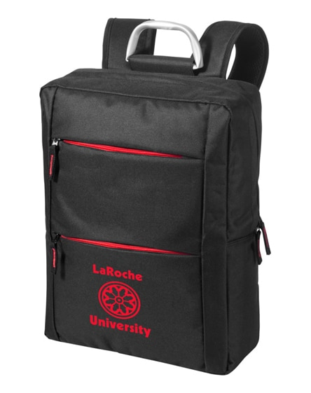 "branded boston 15.6"" laptop backpack"