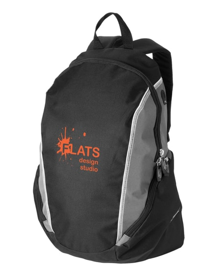 "branded brisbane 15.4"" laptop backpack"