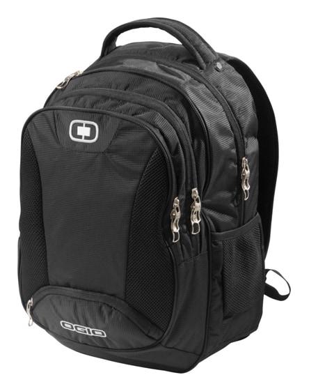 """branded bullion 17"""" laptop backpack"""