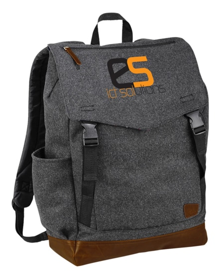 "branded campster 15"" laptop backpack"