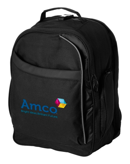 "branded checkmate 15"" laptop backpack"