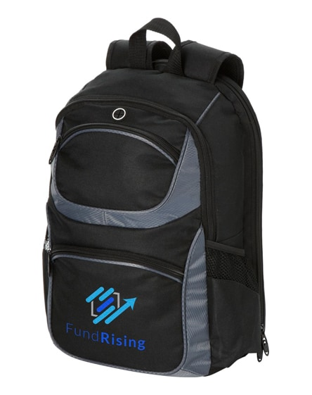 """branded continental 15.4"""" laptop backpack"""
