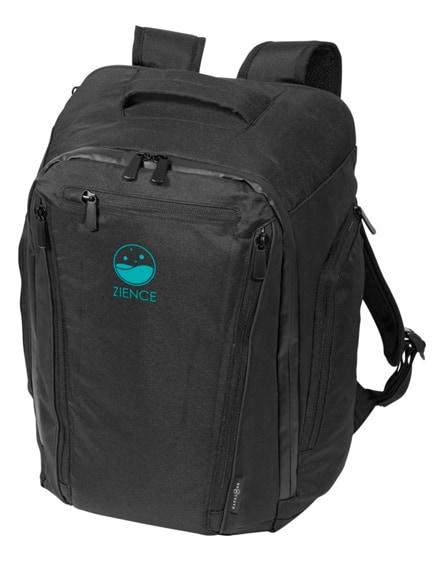 "branded deluxe 15.6"" laptop backpack"
