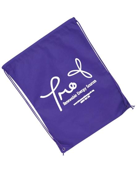 branded eco-friendly drawstring bag