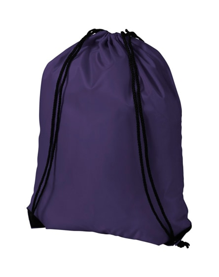 branded economy drawstring bag