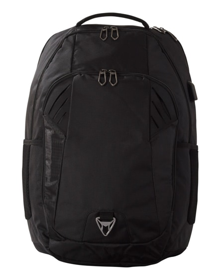 """branded ft airport security friendly 15"""" laptop backpack"""