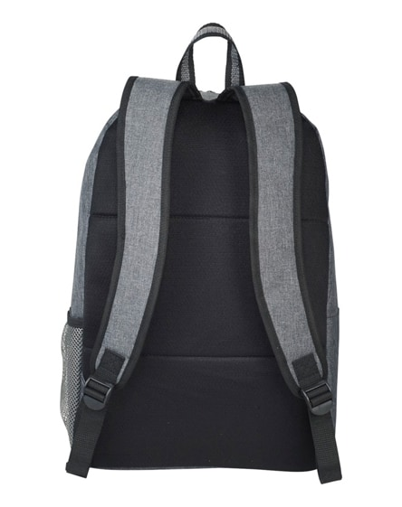"""branded graphite deluxe 15.6"""" laptop backpack"""