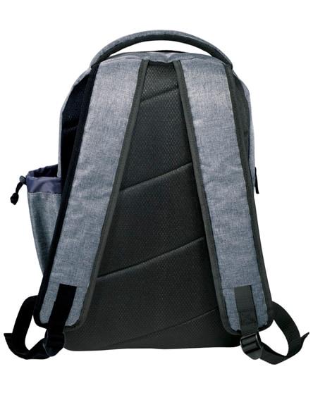 "branded graphite-slim 15.6"" laptop backpack"