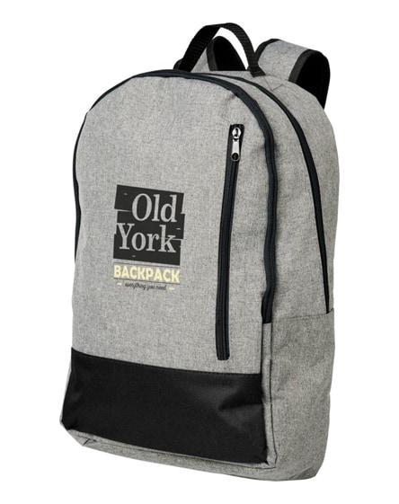 "branded grayley 15"" laptop backpack"