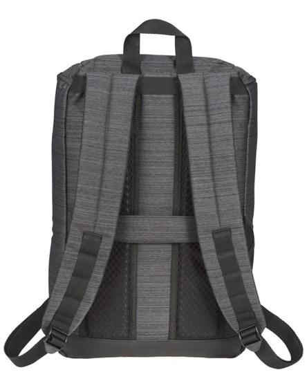 "branded graylin 15"" laptop backpack"