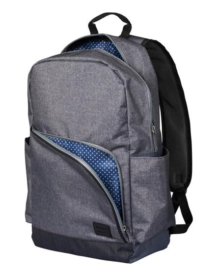 "branded grayson 15"" laptop backpack"