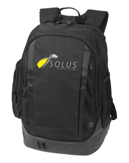 "branded helix 17"" laptop backpack"