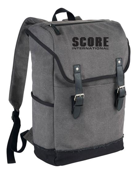 """branded hudson 15.6"""" laptop backpack"""