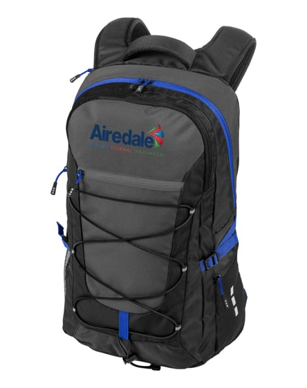 "branded milton 15.4"" outdoor laptop backpack"