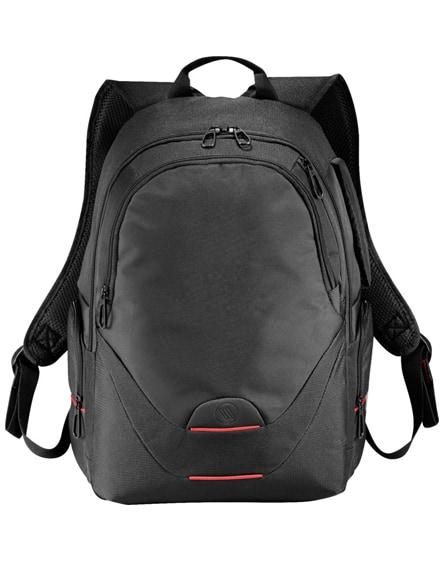 """branded motion 15"""" laptop backpack"""