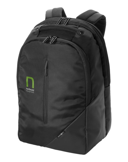 "branded odyssey 15.4"" laptop backpack"