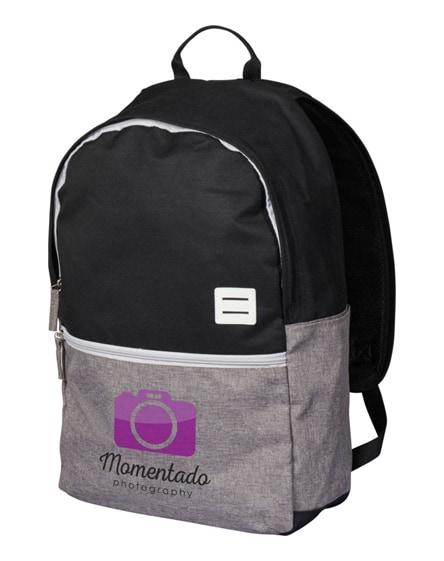 """branded oliver 15"""" laptop backpack"""