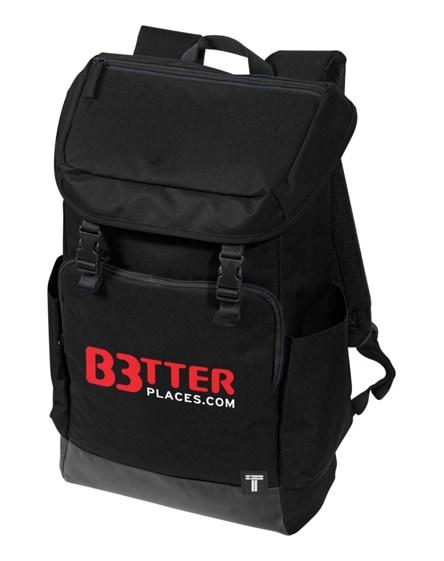 "branded r-too 15.6"" laptop backpack"