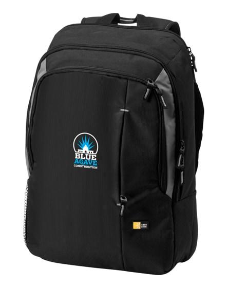 "branded reso 17"" laptop backpack"