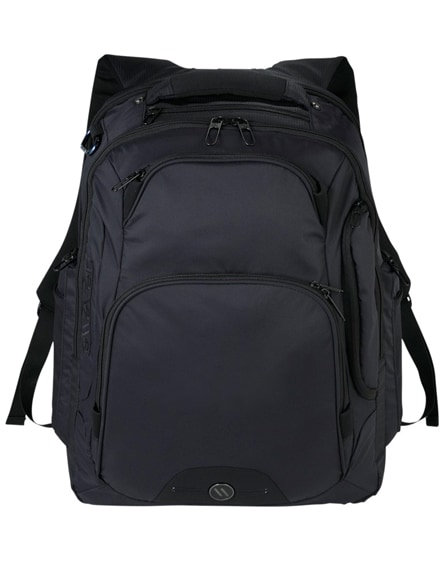 """branded rutter 17"""" laptop backpack"""