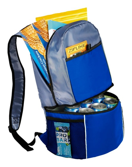 branded sea-isle insulated cooler backpack