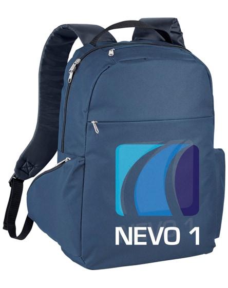 "branded slim 15.6"" laptop backpack"