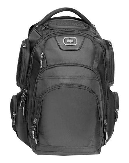 """branded stratagem 17"""" laptop backpack"""