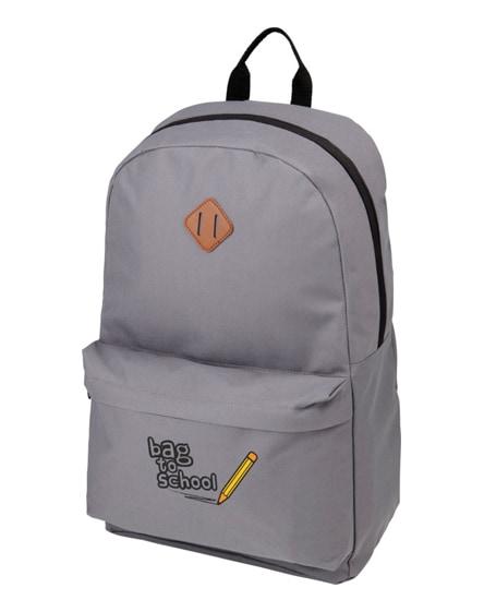 """branded stratta 15"""" laptop backpack"""