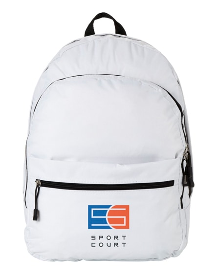 branded trend 4-compartment backpack