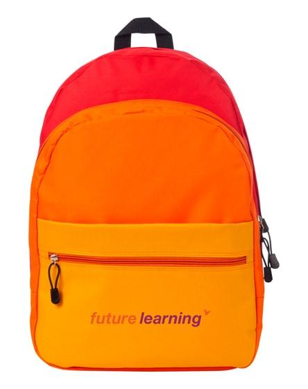 branded trias backpack