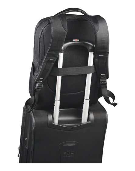 """branded vault rfid 15.6"""" laptop backpack"""