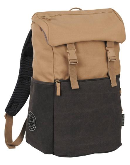 "branded venture 15"" laptop backpack"