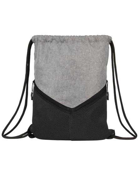 branded voyager drawstring backpack