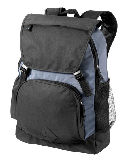 "branded wellington 17"" laptop backpack"