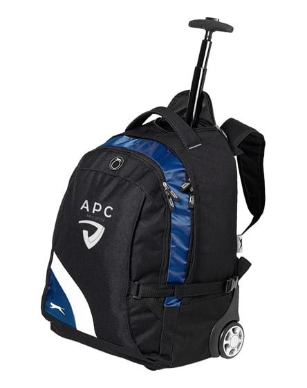 "branded wembley 15.5"" laptop trolley backpack"