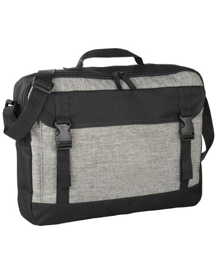 "branded buckle 15.6"" laptop briefcase"