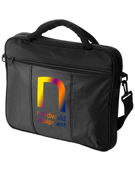 "branded dash 15.4"" laptop conference bag"